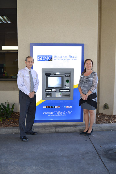 Interactive Teller Machines, known at Savings Bank as Personal Teller & ATMs