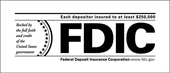 New FDIC footer logo graphic example